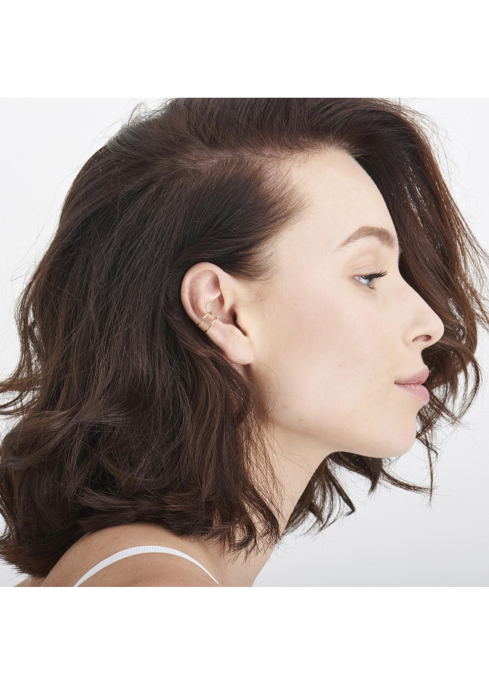 Ania Haie GOLD MODERN EAR CUFF