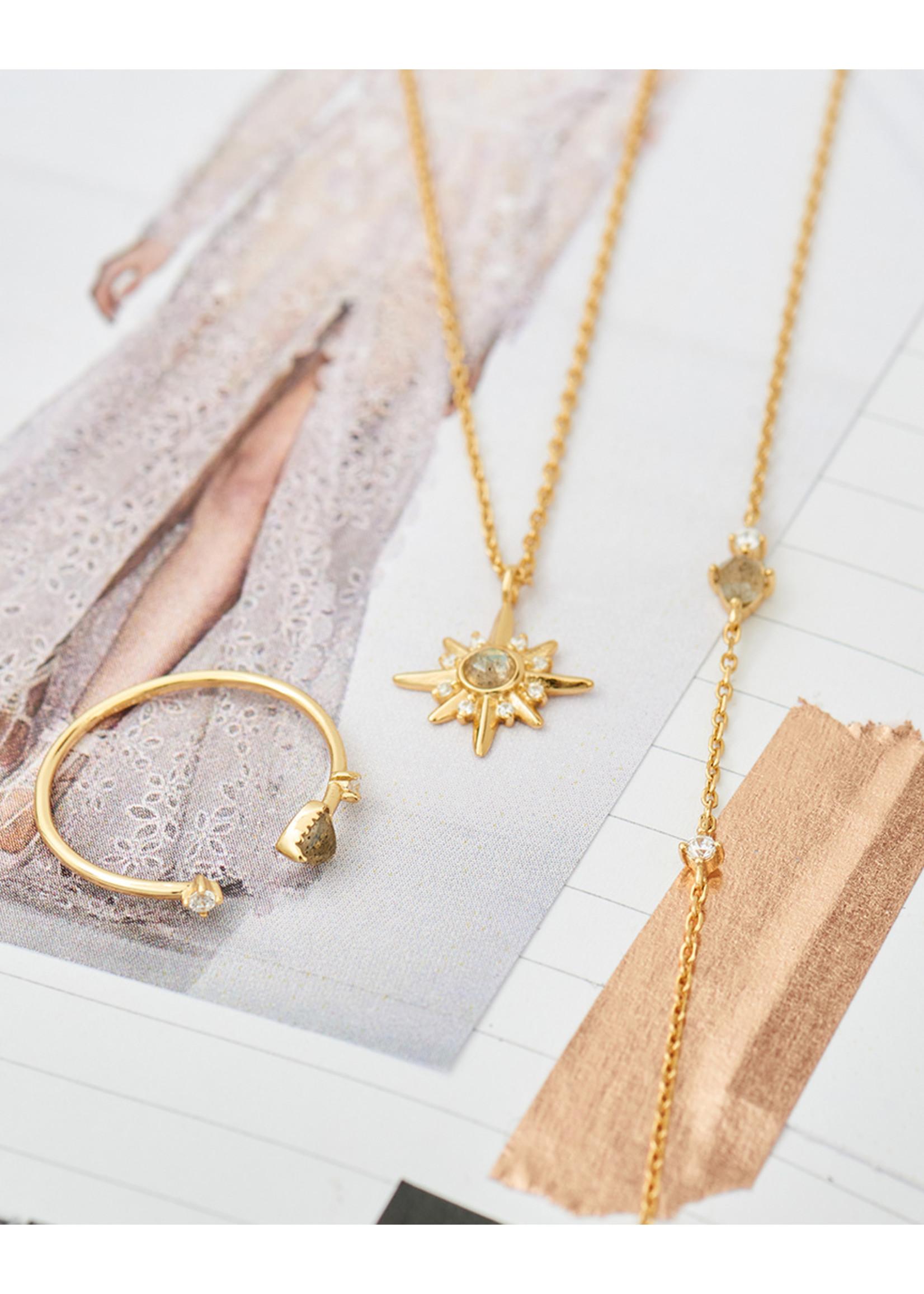 Ania Haie GOLD MIDNIGHT STAR NECKLACE