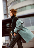 Anna Broek Fake Leather Green Solid