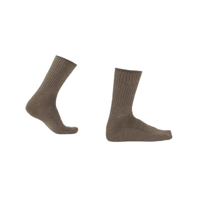 Soga Zachte merino wollen sokken met badstof S9