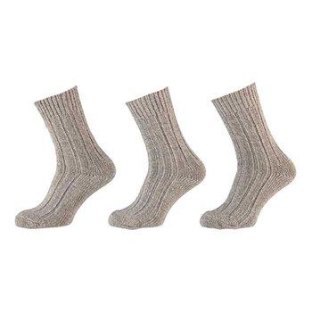 Apollo Klassieke noorse wollen sokken 3-pack
