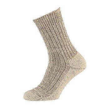 Angro Stevige meraklon wollen sokken met voetbed