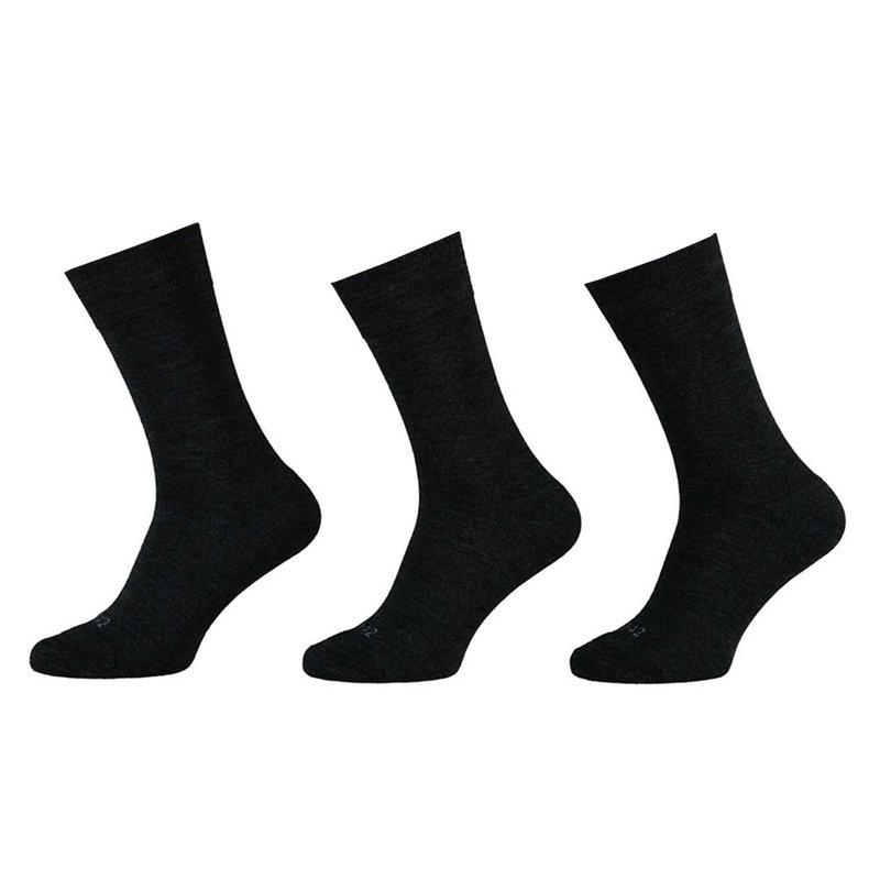 Apollo Wollen herensokken met badstof voetbed 3-Pack