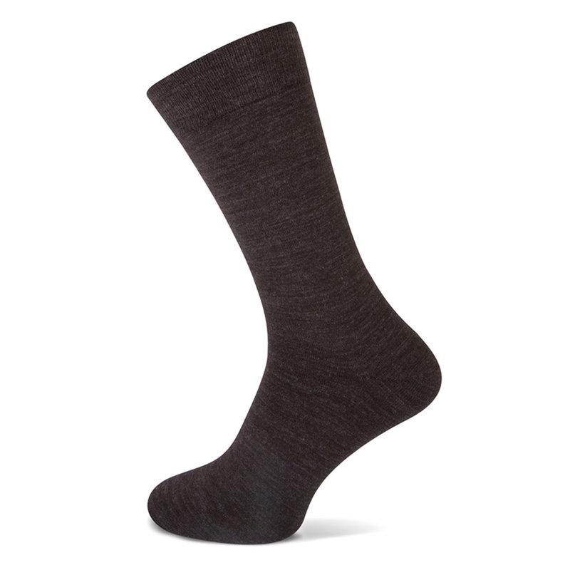 Basset Naadloze merino wollen sokken