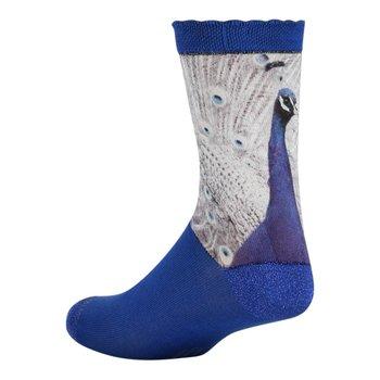 Sock my feet Stylish furry Peacock Sock my damessokken