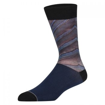 Sock my feet Peacock feather Sock my herensokken