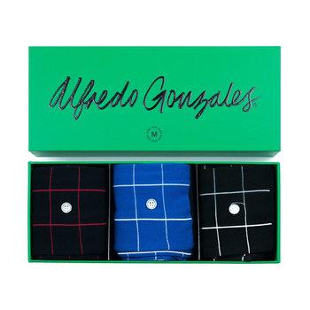 Alfredo Gonzales Alfredo gonzales giftbox check 3-pack