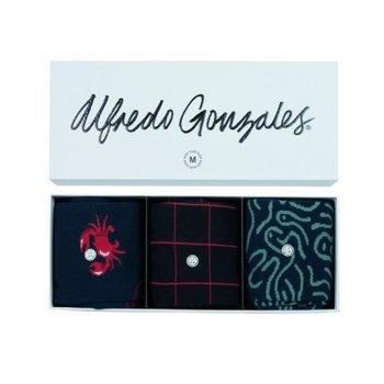 Alfredo Gonzales Giftbox Sea sokken 3-pack