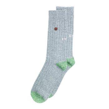 Alfredo Gonzales Trendy warme twisted wool sokken