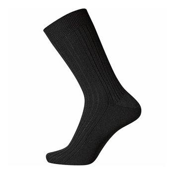 Egtved Dunne knelvrije wollen sokken met brede rib
