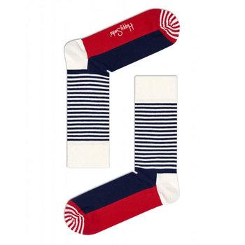Happy Socks Gestreepte sokken van stretch katoen