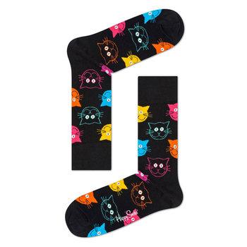 Happy Socks Sokken met katten motief