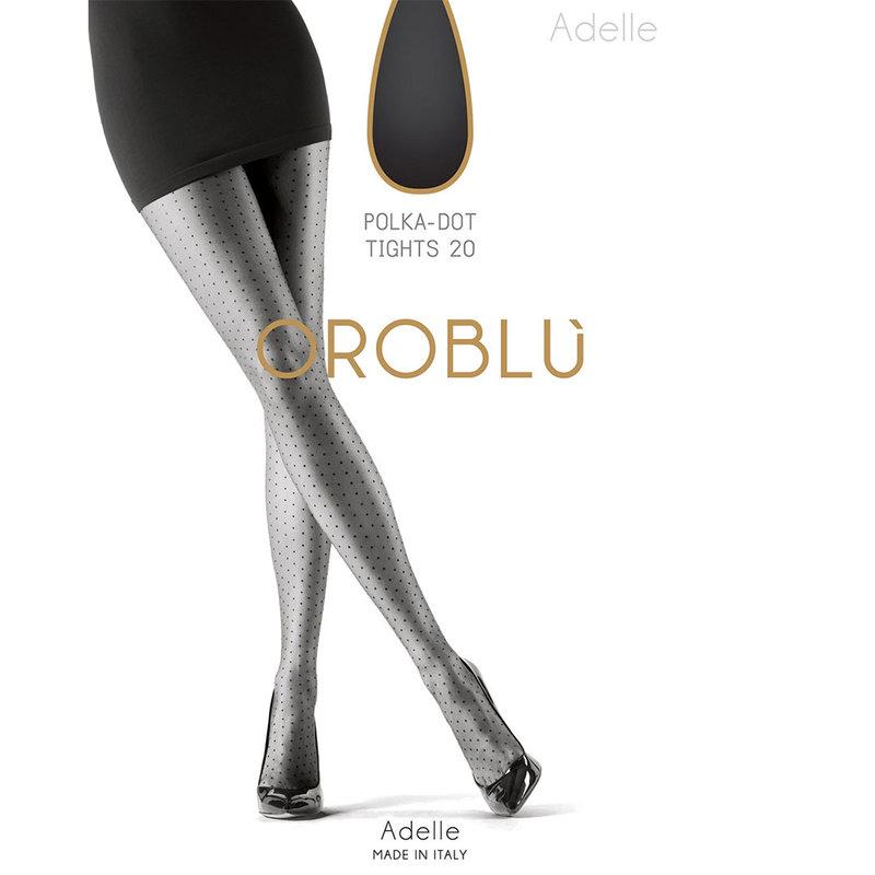 Oroblu Adelle panty met stippen patroon 20 den