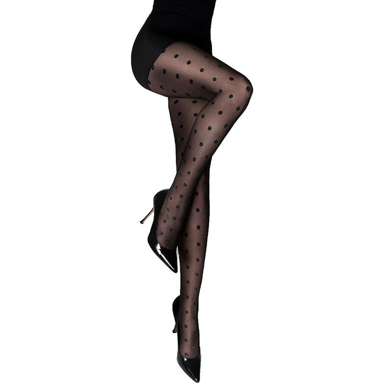 Marcmarcs Lurex panty's met glinsterende dots