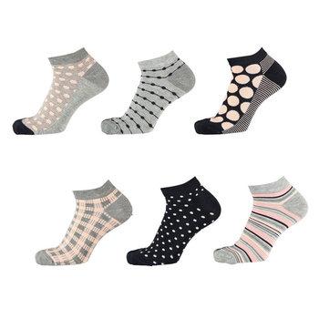 Apollo Dames bamboe sneaker sokken 6-pack