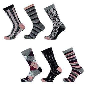 Apollo Dames fashion bamboe sokken 6-pack