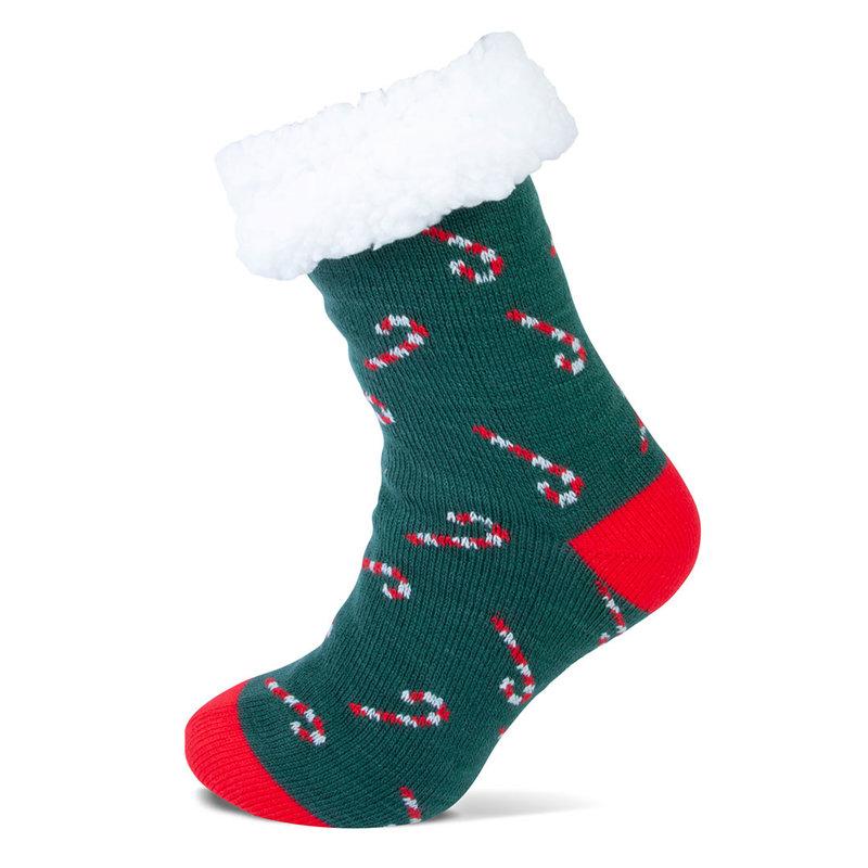 Sockshouse Kerst damessokken met antislip en zachte voering