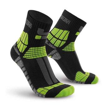 Oxyburn Sportieve outdoor compressie quarter sokken