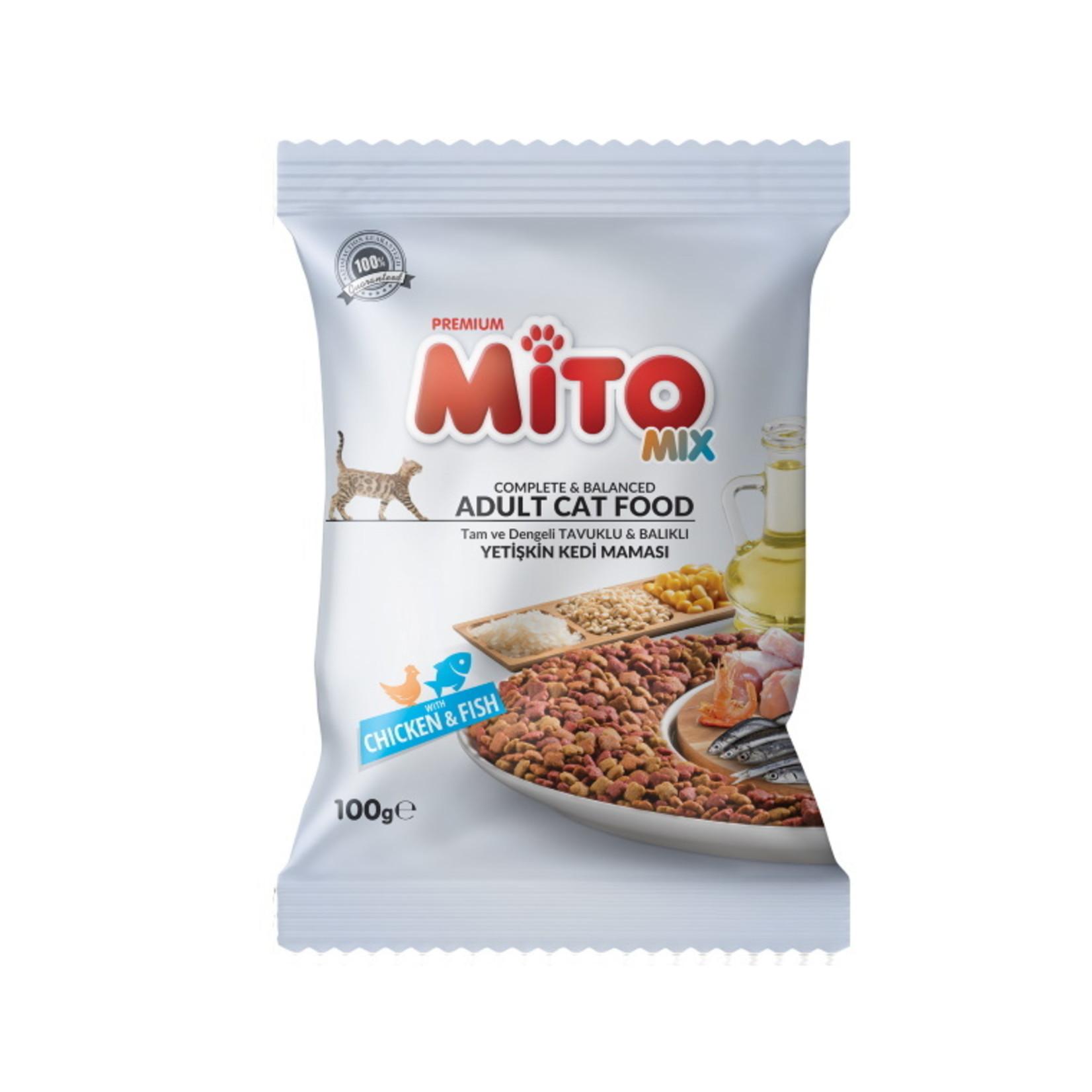 Mito Sample 100 GR   Mito Mix Kip & Vis
