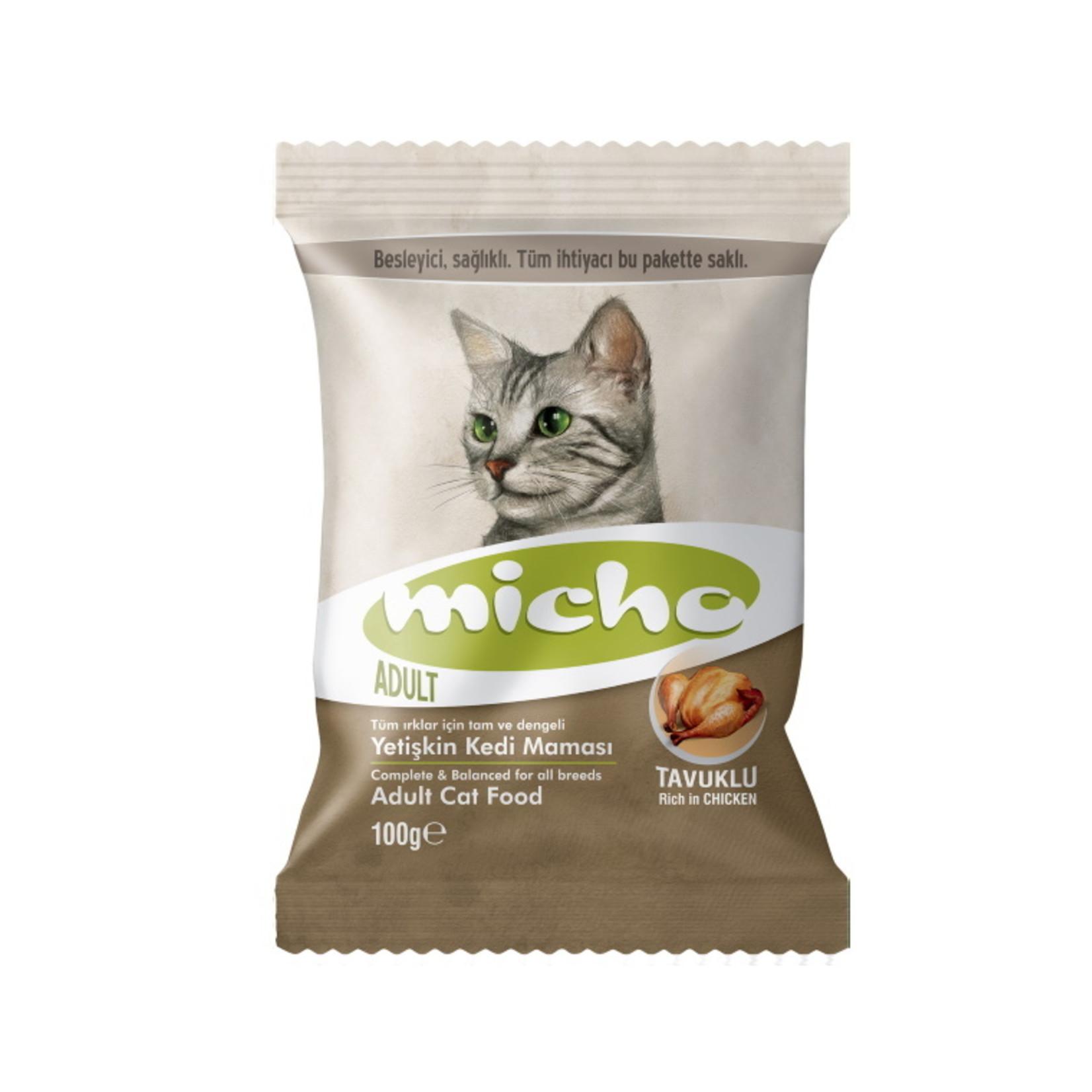 Micho Sample 100 GR   Micho Adult Cat