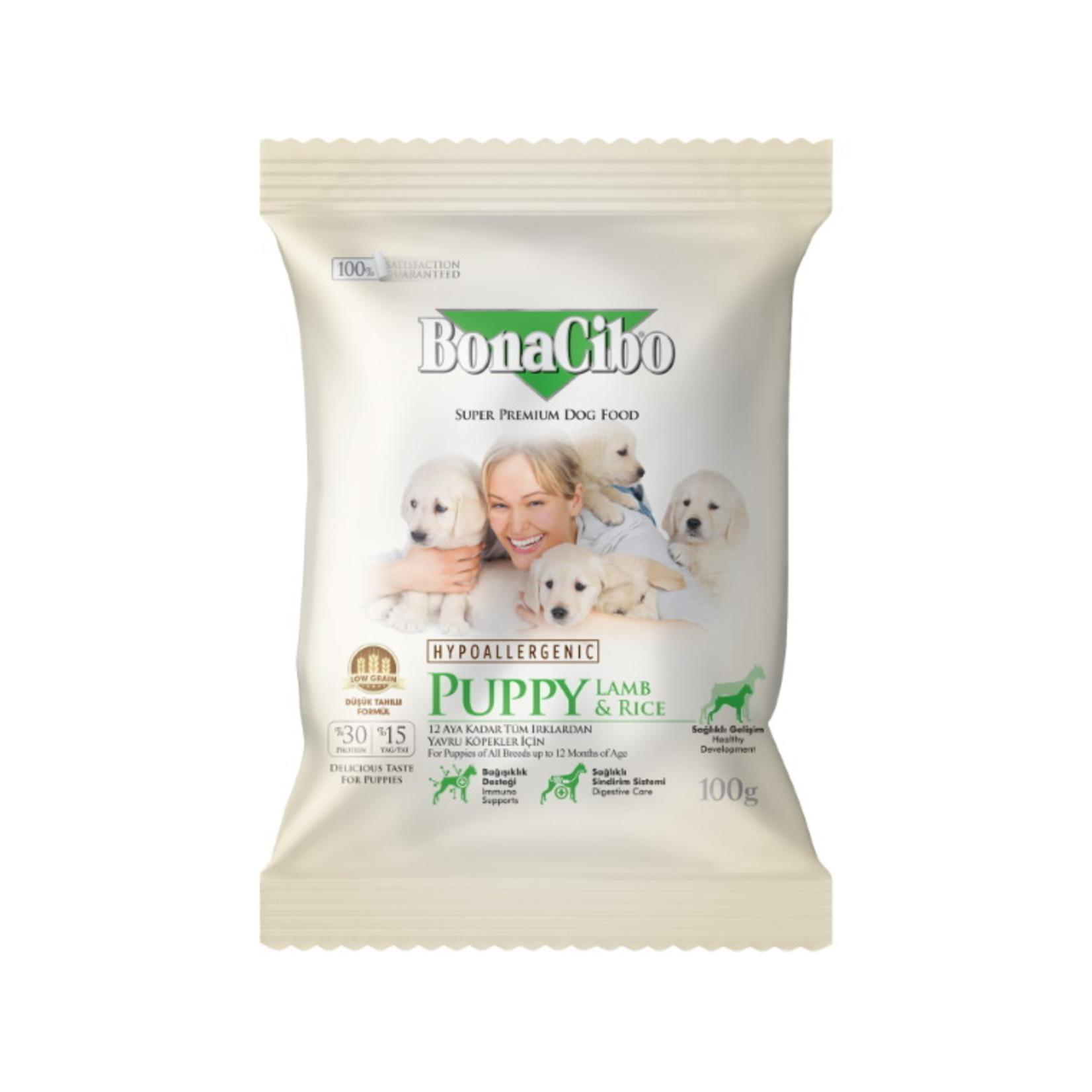 Bonacibo Sample 100 GR  Bonacibo Puppy Lamb & Rice