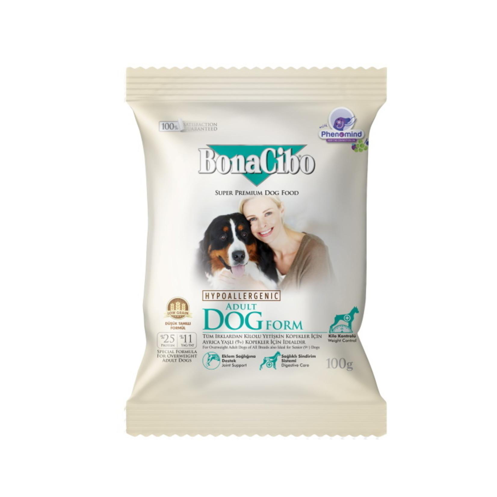 Bonacibo Sample 100 GR  Bonacibo Adult Form Dog Senior & Overweight