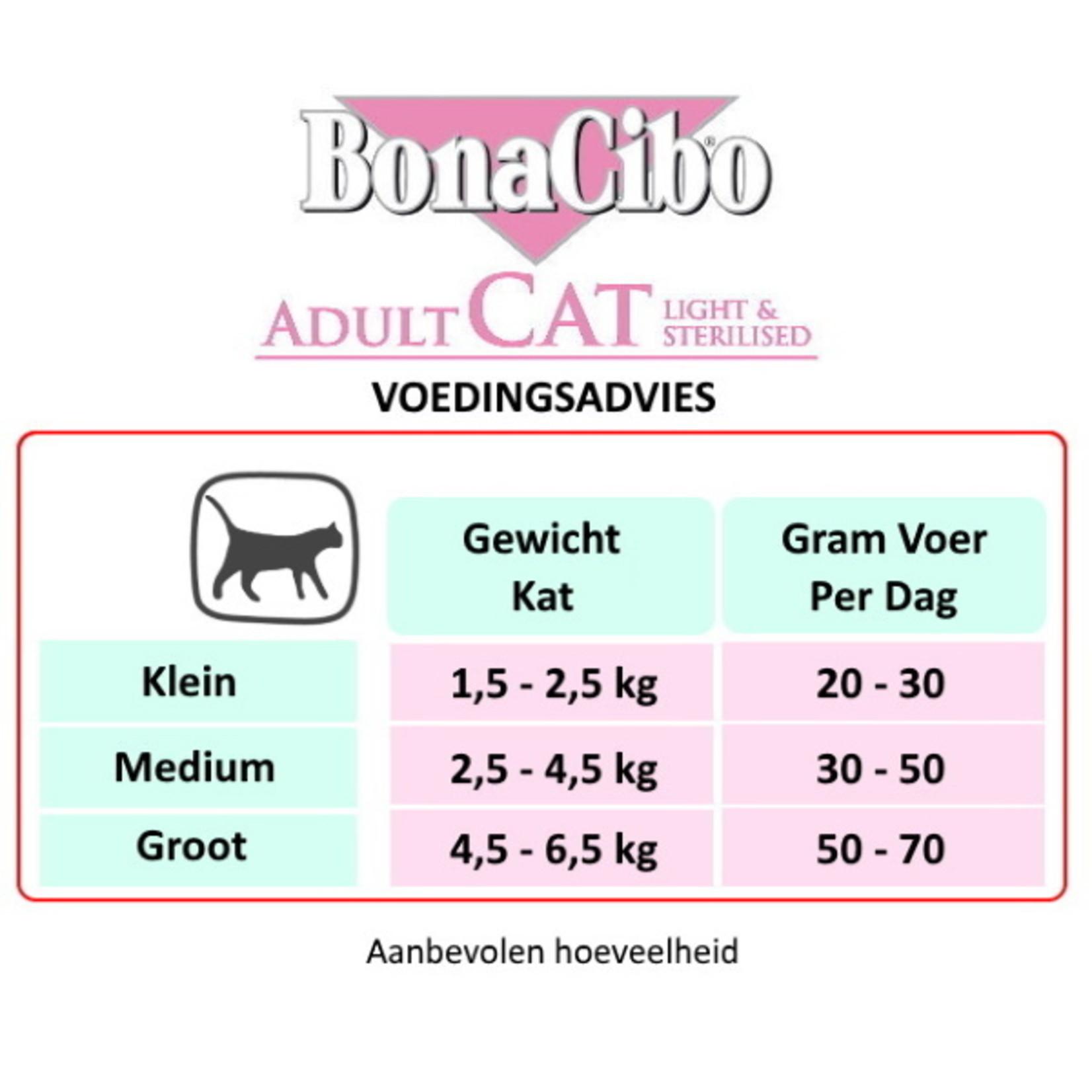 Bonacibo Bonacibo Cat Light & Sterilised Super | Kattenvoer