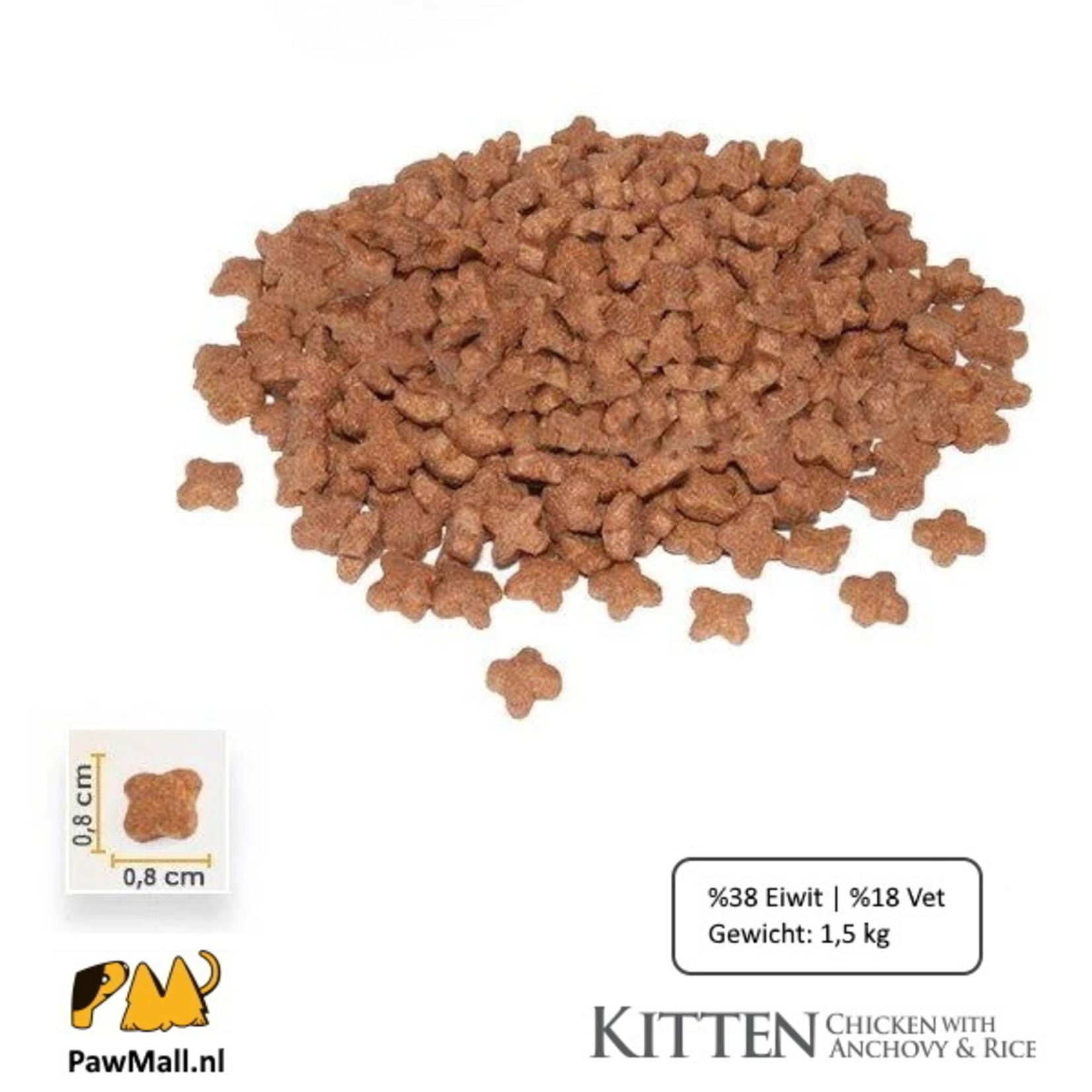 Bonacibo Bonacibo Kitten | Kip & Rijst met Ansjovis | Kattenvoer