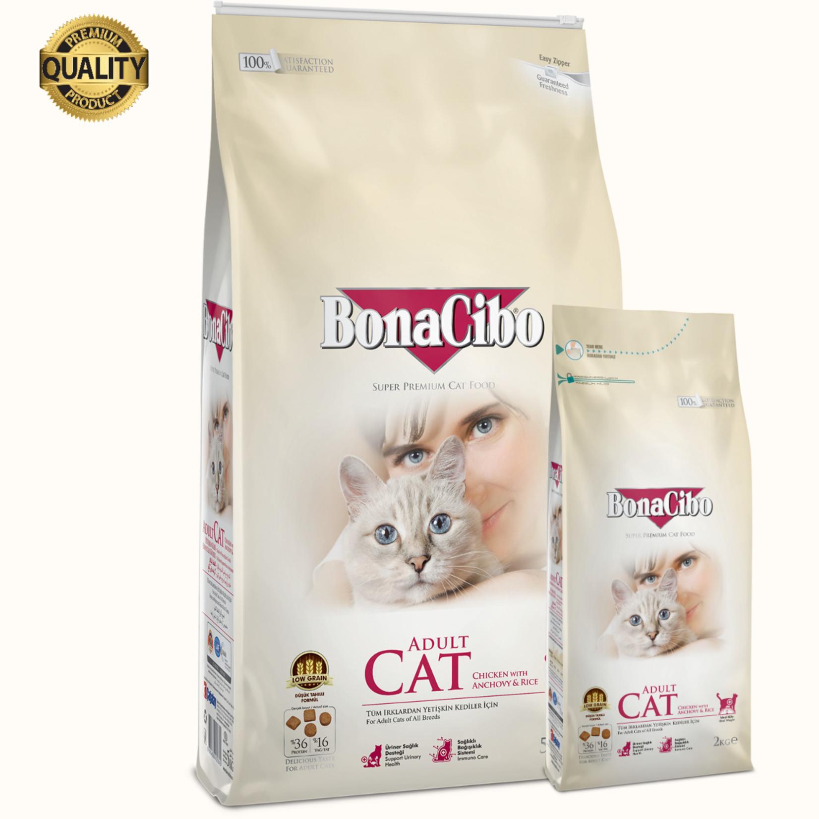 Bonacibo Bonacibo Cat | Kip & Rijst met Ansjovis | Kattenvoer