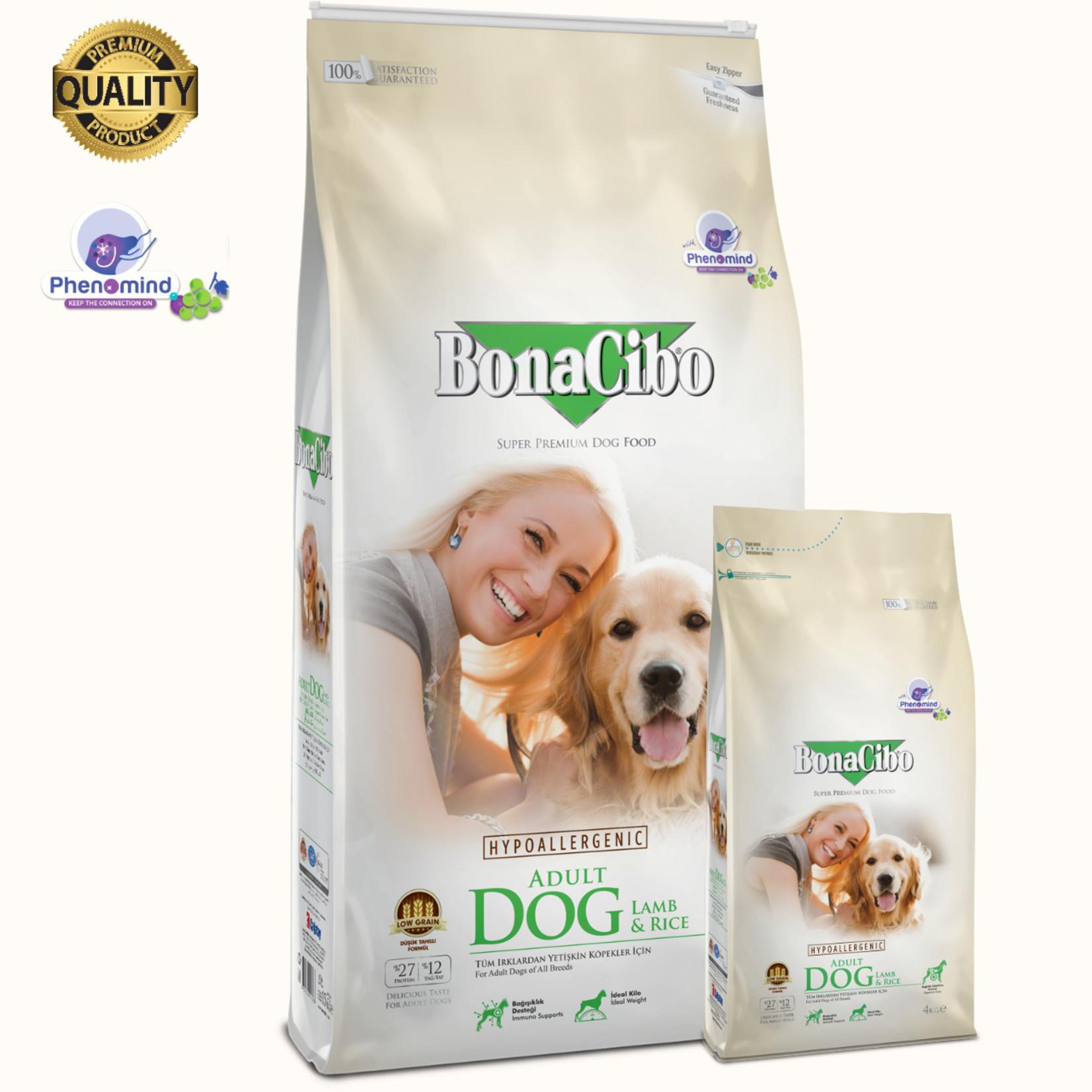 Bonacibo Bonacibo Dog Lam & Rijst | Hypoallergeen Premium Hondenvoer
