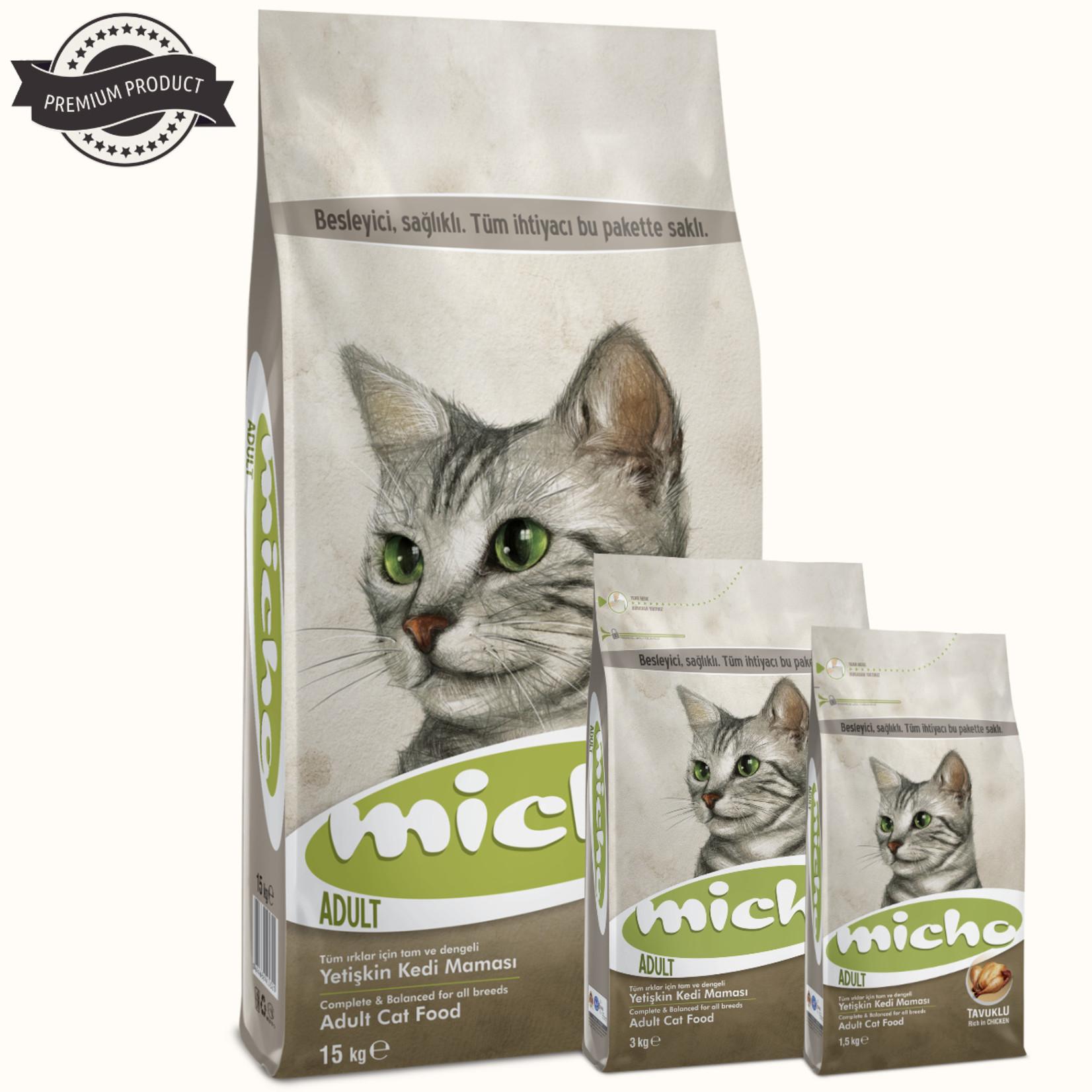Micho Micho Adult Cat Premium Economic   Kattenvoer