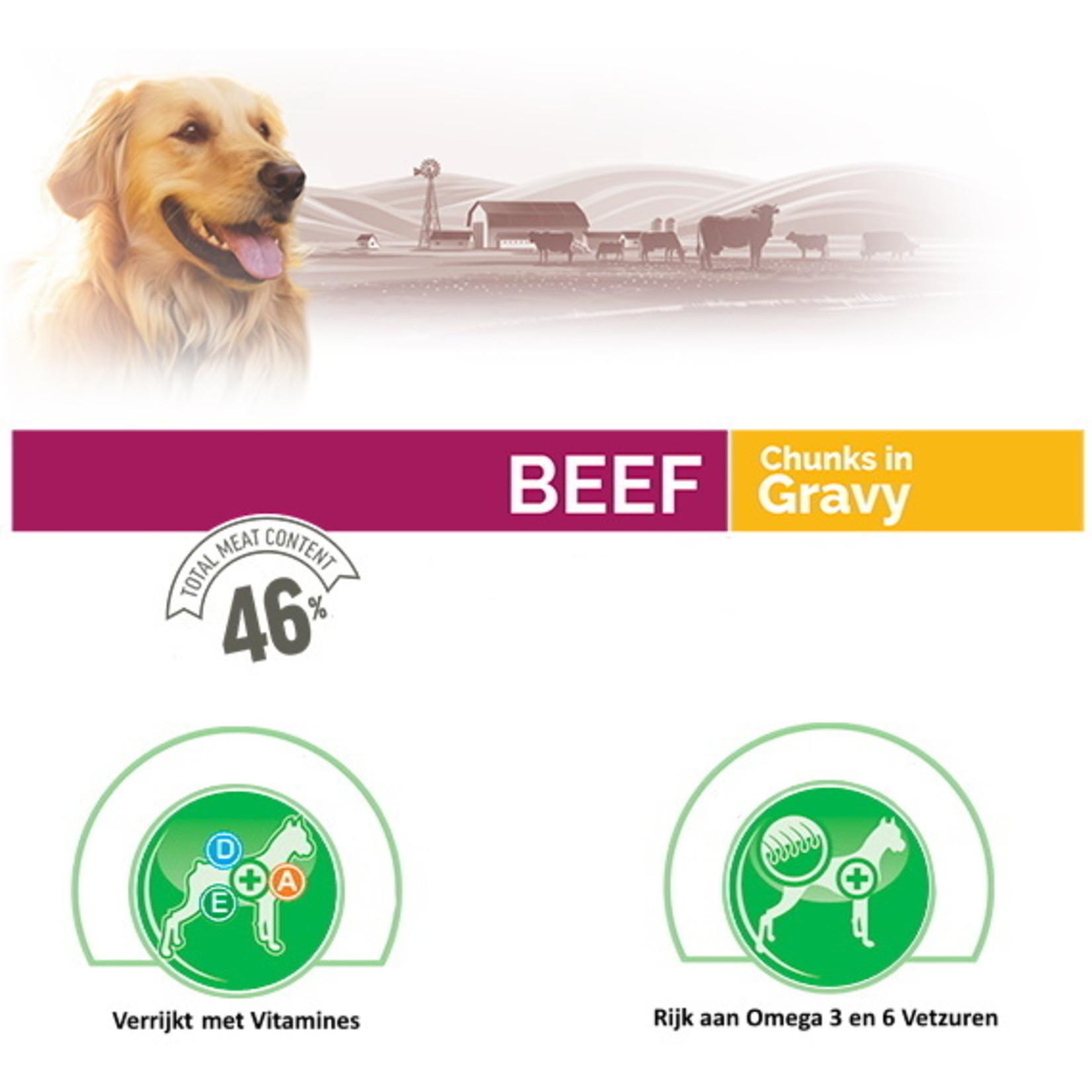 Bonacibo Bonacibo Blikvoer Rundvlees Hondenvoer 6 x 400gr