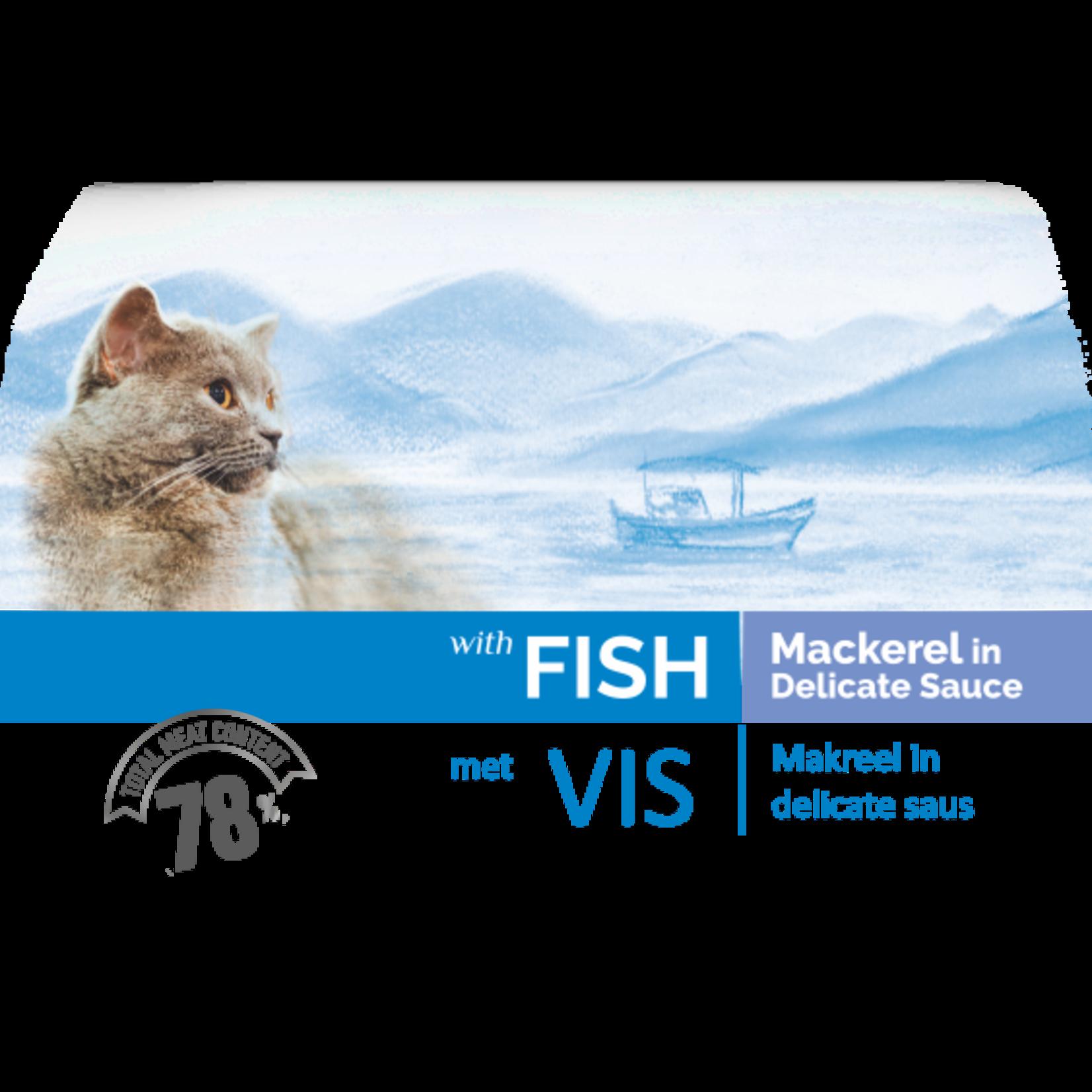 Bonacibo Bonacibo Pouch Makreel Kattenvoer - 12 x 85gr