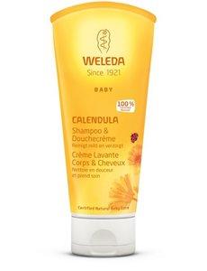 Weleda Weleda - Calendula Babyshampoo & Douchecrème - 200ml