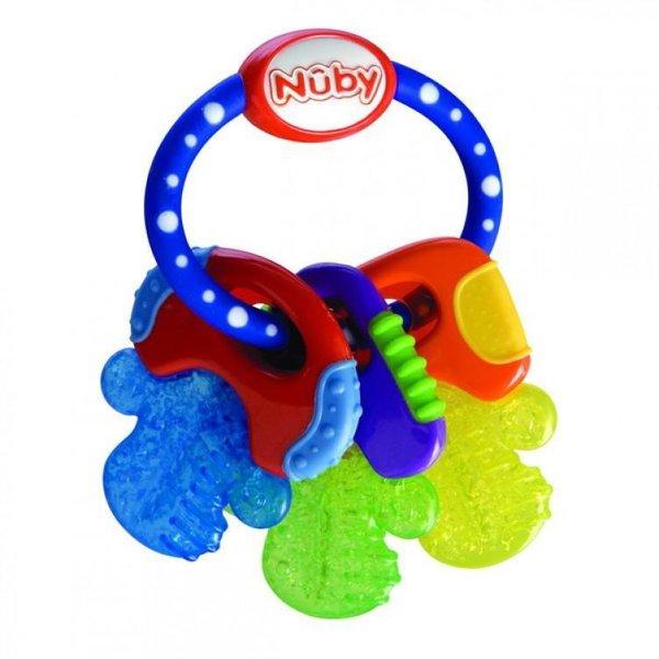 Nûby Nuby - Koelbijtsleutels blauw - 3m+