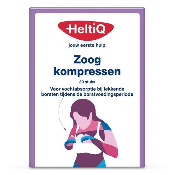 Heltiq HeltiQ - Wegwerp zoogkompressen - 30 stuks