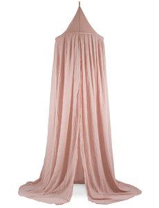 Jollein Jollein - Klamboe vintage  245cm - Pale pink