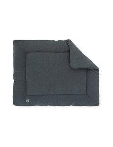 Jollein Jollein - Boxkleed 80x100cm - Jersey melee dark grey
