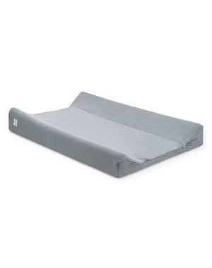 Jollein Jollein - Waskussenhoes 50x70cm - Basic knit stone grey