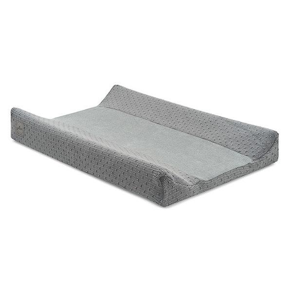 Jollein Jollein - Waskussenhoes 50x70cm - Bliss knit storm grey