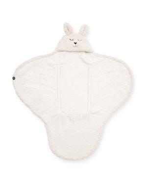 Jollein Jollein - Wikkeldeken Bunny - Off-white