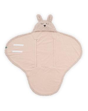 Jollein Jollein - Wikkeldeken Bunny - Pale pink