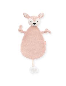 Jollein Jollein - Knuffeldoekje Deer - Pale pink