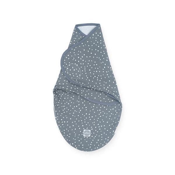 Jollein Jollein - Inbakerdoek wrapper 0-3 maanden - Spickle grey