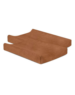 Jollein Jollein - Waskussenhoes badstof 50x70cm - Caramel (2pack)