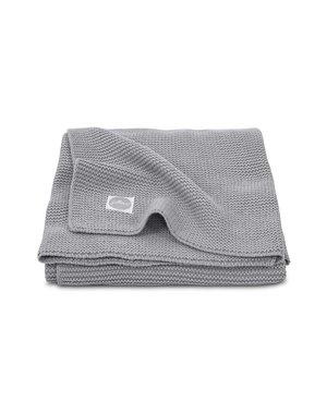 Jollein Jollein - Deken Wieg 75x100cm - Basic knit stone grey