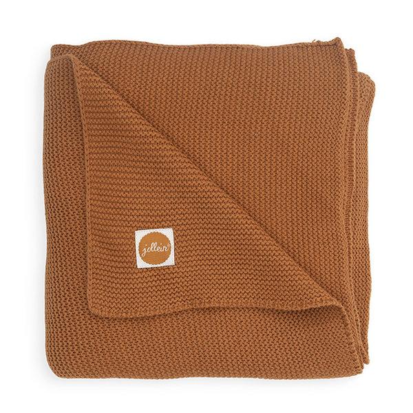 Jollein Jollein - Deken Wieg 75x100cm - Basic knit caramel