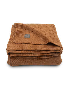Jollein Jollein - Deken Ledikant 100x150cm - Bliss knit caramel