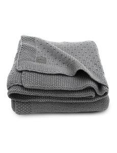 Jollein Jollein - Deken Ledikant 100x150cm - Bliss knit storm grey