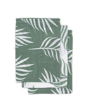 Jollein Jollein - Hydrofiel washandje - Nature ash green (3pack)